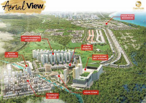 Masterplan Villa Pasir Putih 5 – PIK2