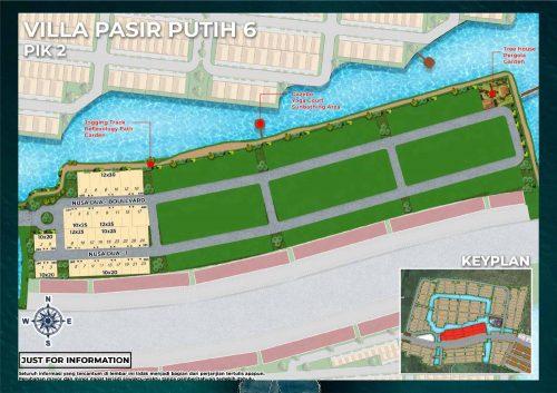 Siteplan Villa Pasir Putih 6 – PIK2 (1)