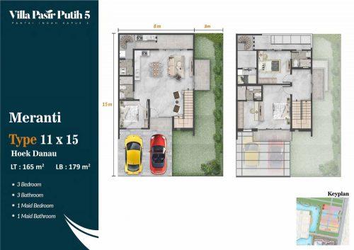 Tipe Unit Villa Pasir Putih 5 – PIK2 (10)