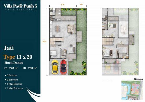 Tipe Unit Villa Pasir Putih 5 – PIK2 (13)