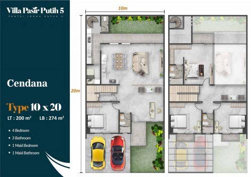 Tipe Unit Villa Pasir Putih 5 – PIK2 (18)