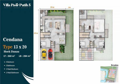 Tipe Unit Villa Pasir Putih 5 – PIK2 (19)