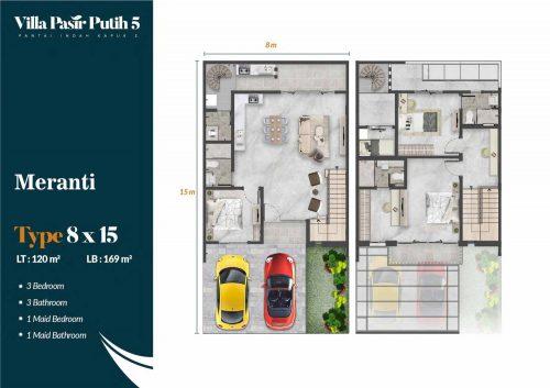 Tipe Unit Villa Pasir Putih 5 – PIK2 (9)