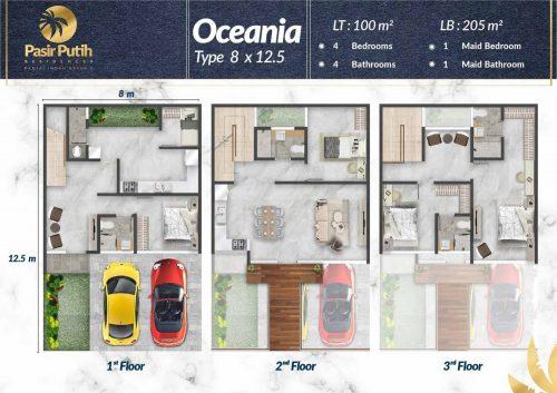 Tipe Unit Villa Pasir Putih Double Decker – PIK2 (3)
