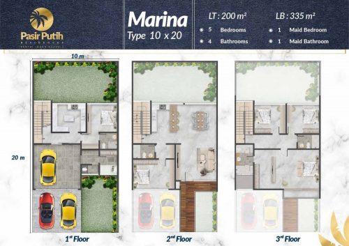 Tipe Unit Villa Pasir Putih Double Decker – PIK2 (7)